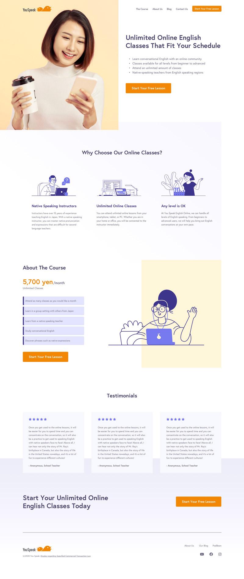 YouSpeak Online Home